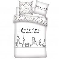 Friends Dekbedovertrek Skyline - 240 x 220 cm
