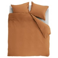 Ambiante Dekbedovertrek Uni Cotton Orange