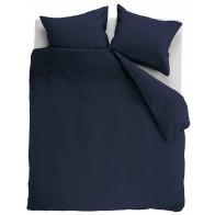 Ambiante Dekbedovertrek Uni Cotton Dark Blue