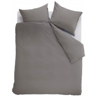Ambiante Dekbedovertrek Uni Cotton Grey