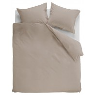 Ambiante Dekbedovertrek Uni Cotton Taupe