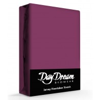Day Dream Jersey Hoeslaken Blackberry-90 x 200 cm
