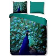 Pure Dekbedovertrek Peacock