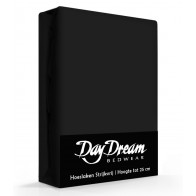 Day Dream Hoeslaken Katoen Zwart