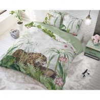 Dreamhouse Dekbedovertrek Exotic Tiger Green