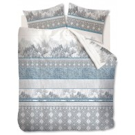 Beddinghouse Dekbedovertrek Winterland Blue Grey