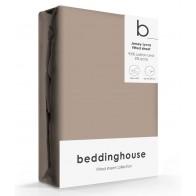 Beddinghouse Jersey-Lycra Hoeslaken Taupe