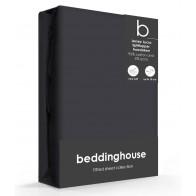 Beddinghouse Splittopper Hoeslaken Jersey-Lycra Anthracite