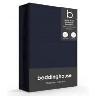 Beddinghouse Splittopper Hoeslaken Jersey-Lycra Indigo
