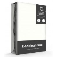 Beddinghouse Splittopper Hoeslaken Jersey-Lycra Offwhite