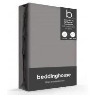 Beddinghouse Splittopper Hoeslaken Jersey-Lycra Warm Grey