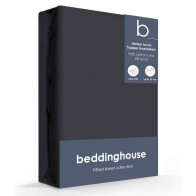 Beddinghouse Jersey-Lycra Topper Hoeslaken anthracite