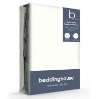 Beddinghouse Jersey-Lycra Topper Hoeslaken Offwhite