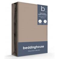 Beddinghouse Jersey-Lycra Topper Hoeslaken Taupe
