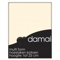 Hoeslaken Multiform Damai Vanille (Katoen)