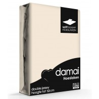 Damai Multiform Double Jersey Splittopper Taupe