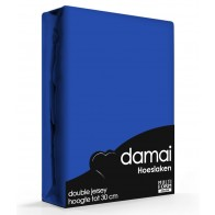 Damai Multiform Double Jersey Hoeslaken Ultramarine