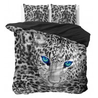 Dreamhouse Dekbedovertrek Cheetah Grey