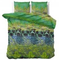 Sleeptime Dekbedovertrek Asian Forest Green