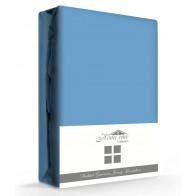 Dubbel Geweven Hoeslaken Blauw Home Care