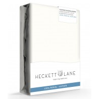 Heckett Lane Hoeslaken Topper Percal Off White