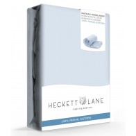 Heckett Lane Hoeslaken Percal Baby Blue