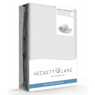 Heckett Lane Hoeslaken Percal Silver Grey