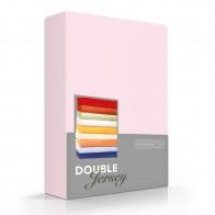 Romanette Hoeslaken Double Jersey Roze