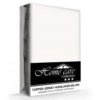 Homecare Jersey Topper Hoeslaken Creme