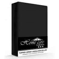 Homecare Jersey Topper Hoeslaken Zwart