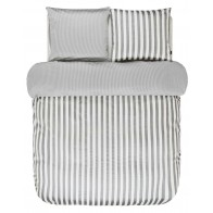 Marc O'Polo Dekbedovertrek Classic Stripe Grey