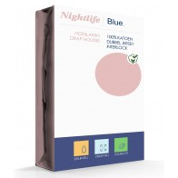 Nightlife Double Jersey Interlock Soft Pink