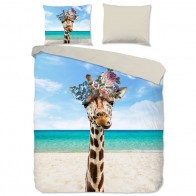 Pure Dekbedovertrek Cool Giraffe