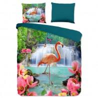 Pure Dekbedovertrek Flamingo