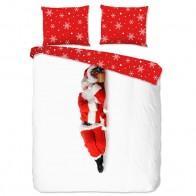 Pure Dekbedovertrek Santa