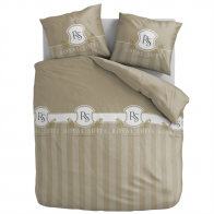 Aneeza Dekbedovertrek Royal Suite Taupe