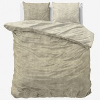 Sleeptime Dekbedovertrek Twin Washed Taupe