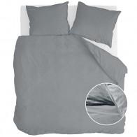 Walra Dekbedovertrek Vintage Cotton Elephant Grey