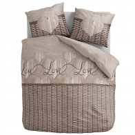 Aneeza Dekbedovertrek Wicker Heart