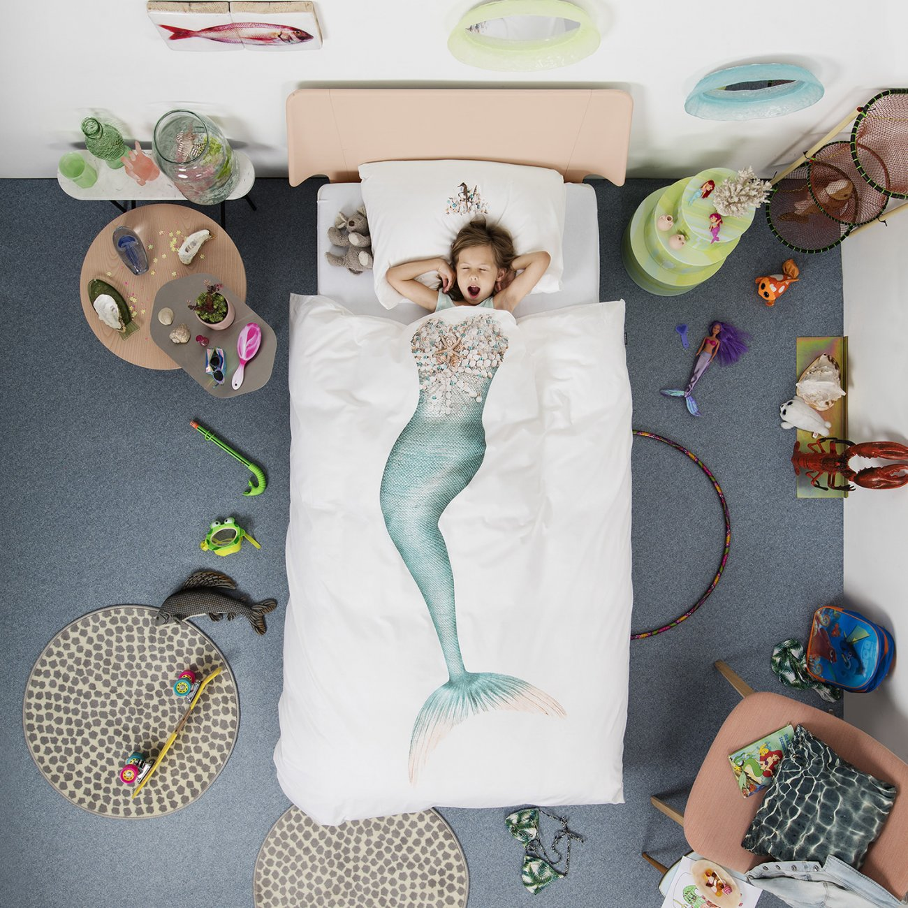 Snurk Beddengoed Mermaid-140x200/220
