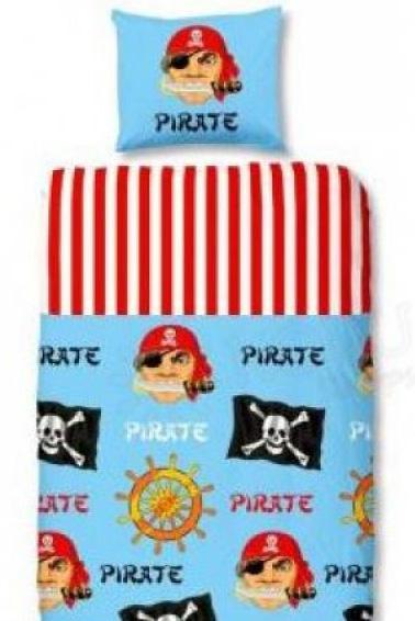 Pirates Dekbedovertrek Schateiland
