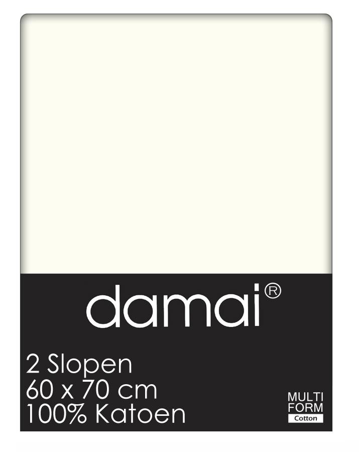 Damai Kussensloop Ivoor (2 stuks) MAAT 60X70