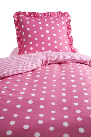 Dekbedovertrek Damai Dotty Spotty Roze 100 x 135