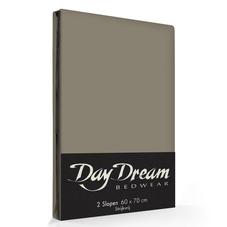 2 Stuks Kussenslopen Day Dream Kiezel (katoen)