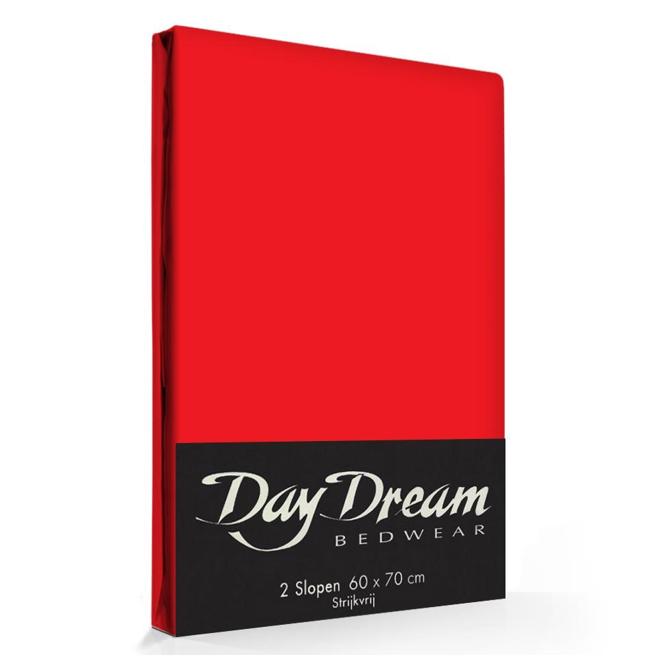 2 Stuks Kussenslopen Day Dream Rood (katoen)