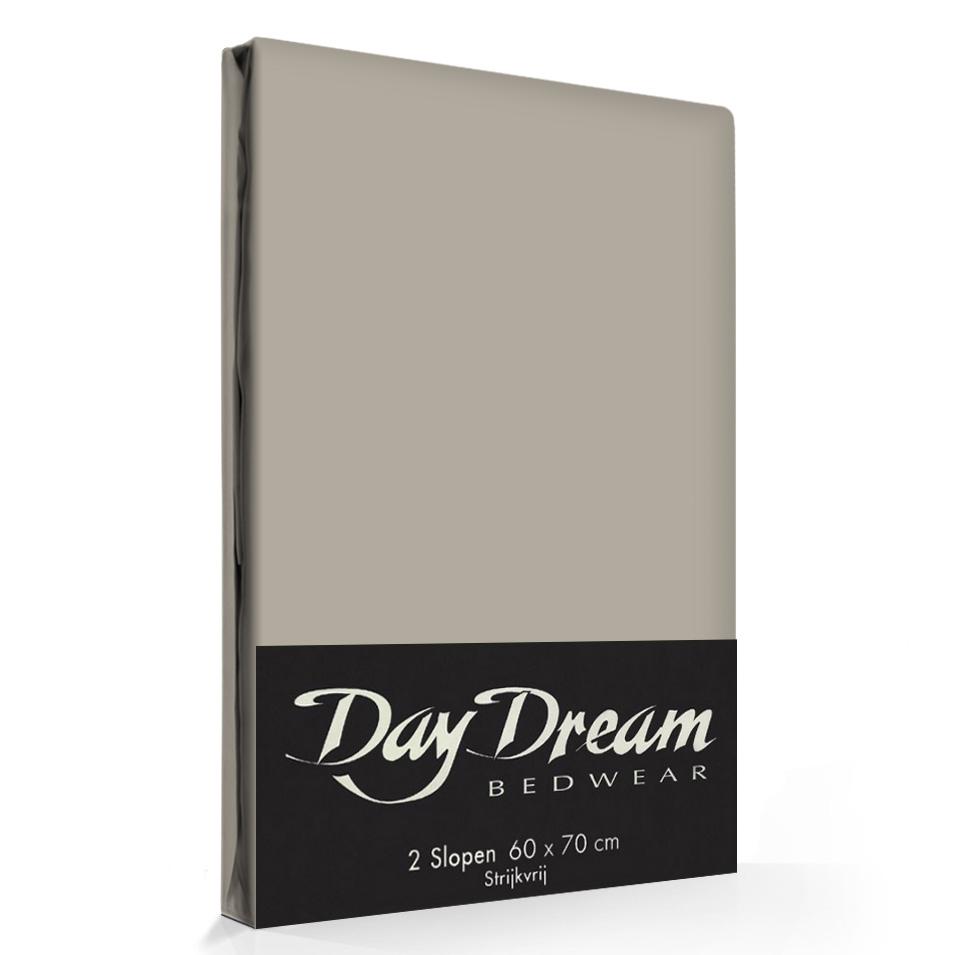 2 Stuks Kussenslopen Day Dream Zand (katoen)