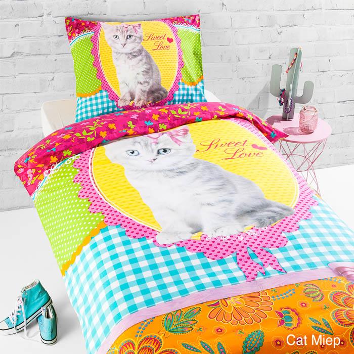 Day Dream Cat Miep Dekbedovertrek