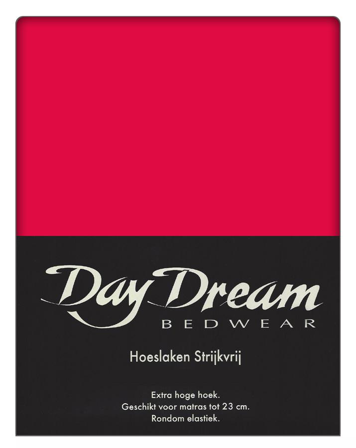 Day Dream Hoeslaken Katoen Fuchsia 160 x 200 cm
