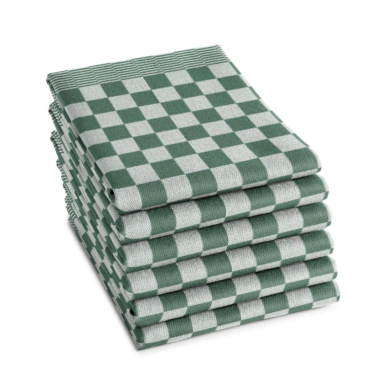 DDDDD Theedoek Barbeque Green (6 stuks)