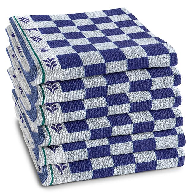 DDDDD Keukendoek Veere Blue (6 stuks)
